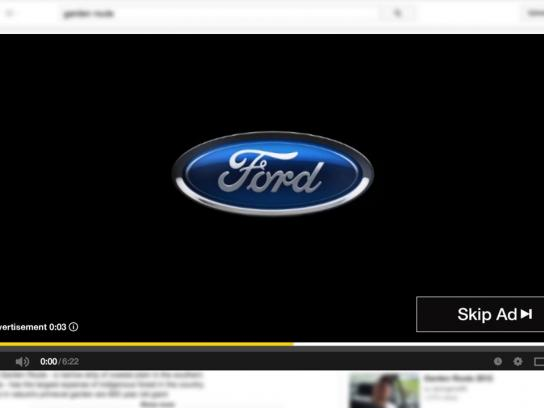 Ford Digital Ad -  A few seconds you just can't skip