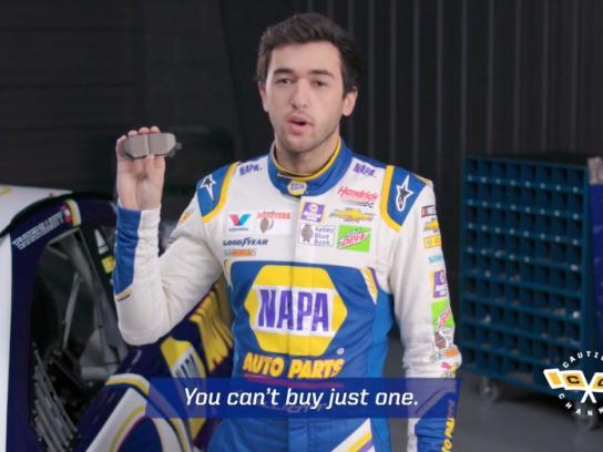 NAPA Auto Parts Film Ad - Caution Channel: Speed Sells Brakes