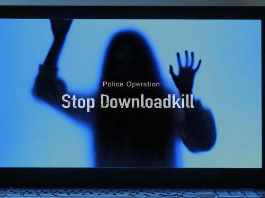 Busan Metropolitan Police Agency Integrated Ad - Stop Downloadkill