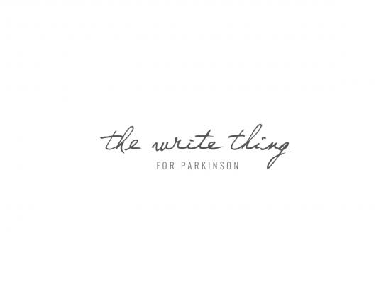 Vlaamse Parkinson Liga Ambient Ad -  The Write Thing for Parkinson