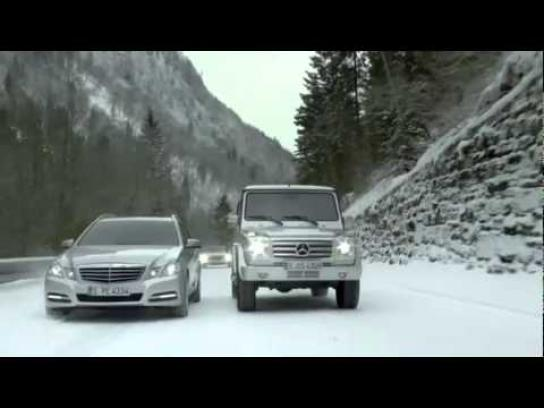 Mercedes Film Ad -  Sunday driver