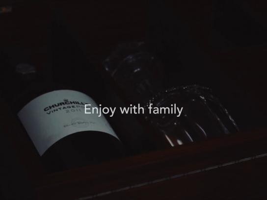 Churchill´s Port Direct Ad - My family gift