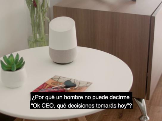 CEPAM Guayaquil Digital Ad - #GirlSpeakLouder - Google Home