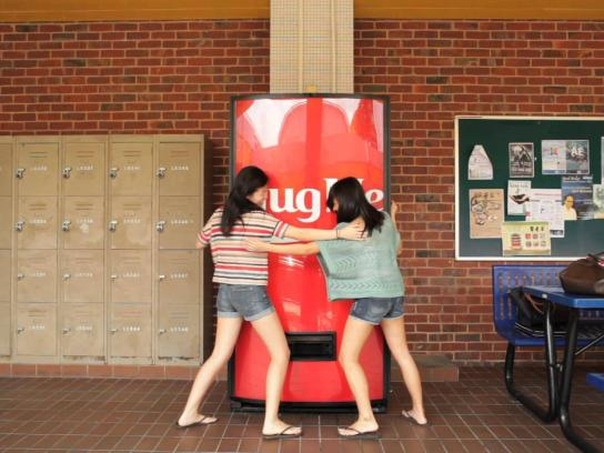 Coca-Cola Digital Ad -  Coke Hug Me Machine