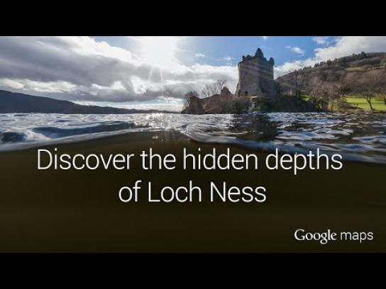 Google Digital Ad -  Explore Loch Ness
