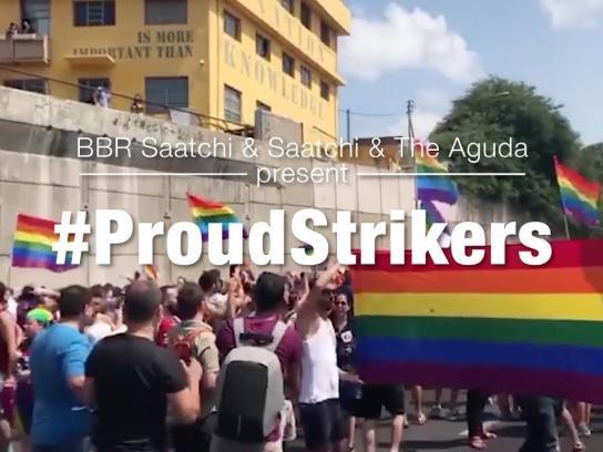 The Aguda Digital Ad - #ProudStrikers