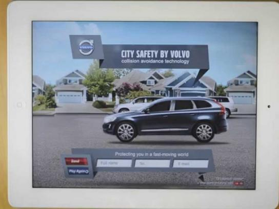 Volvo Digital Ad -  Finger safety
