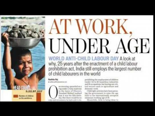 Zomato Film Ad - Child Labor