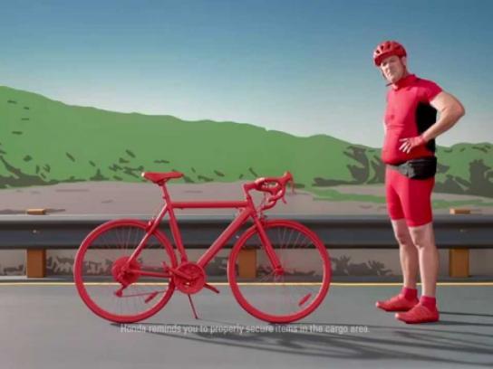 Honda Film Ad -  Biker, Fortune, Cup, Meerkat