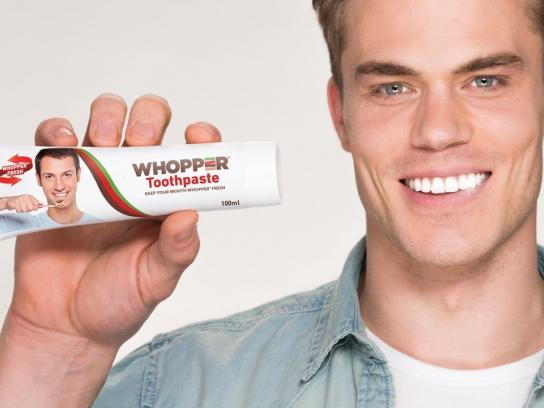 Burger King Film Ad - WHOPPER TOOTHPASTE