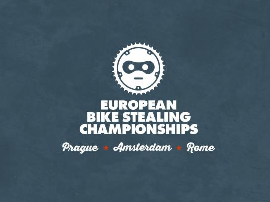 We Love Cycling Ambient Ad -  European Bike Stealing Championships 2015