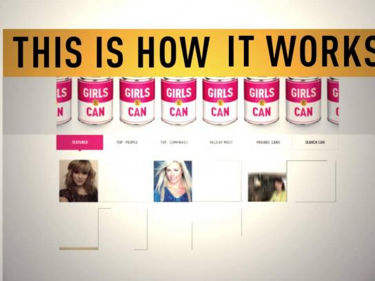 Plan Finland Digital Ad -  Girls Can