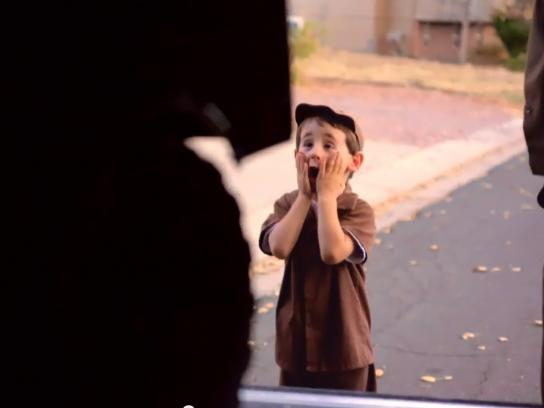 UPS Digital Ad -  Your Wishes Delivered - Driver for a day