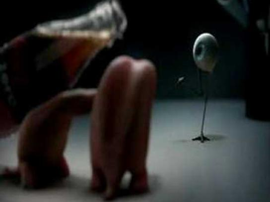 Coca-Cola Zero Film Ad -  Tongues and eyeball, 1