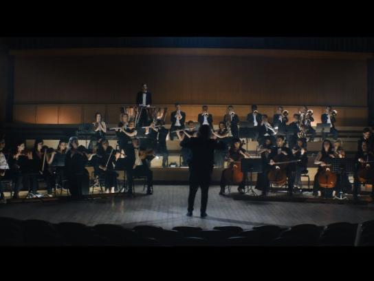 Porsche Film Ad - Highspeed Orchestra