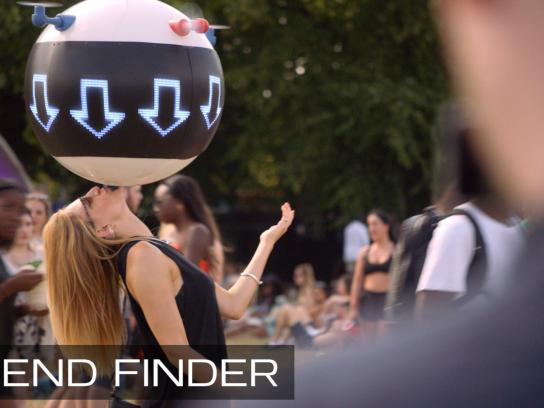 Pepsi Ambient Ad -  The Friend Finder