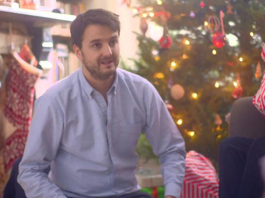 Hiscox Digital Ad -  The 10 little white lies of Christmas