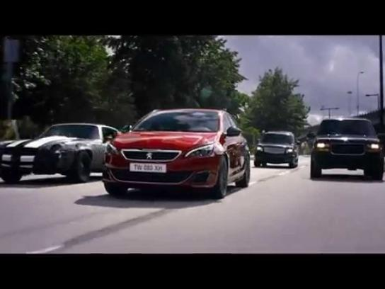 Peugeot Film Ad -  Push the limits