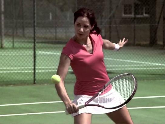 Voltarol Film Ad -  Tennis