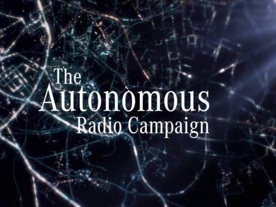 Mercedes Audio Ad - The autonomous radio campaign