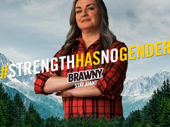 Brawny Film Ad - Dr. Patty Lopez