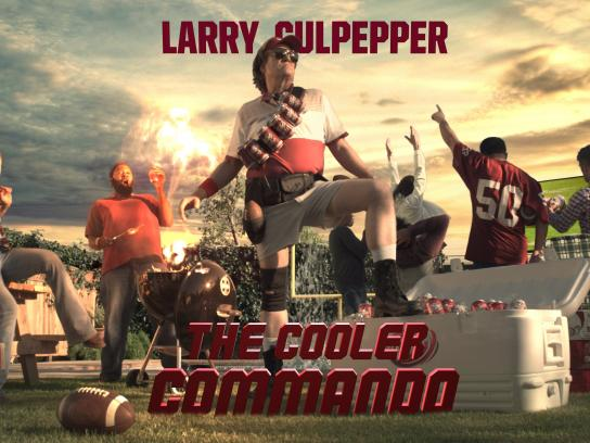 Dr Pepper Film Ad - Cooler commando