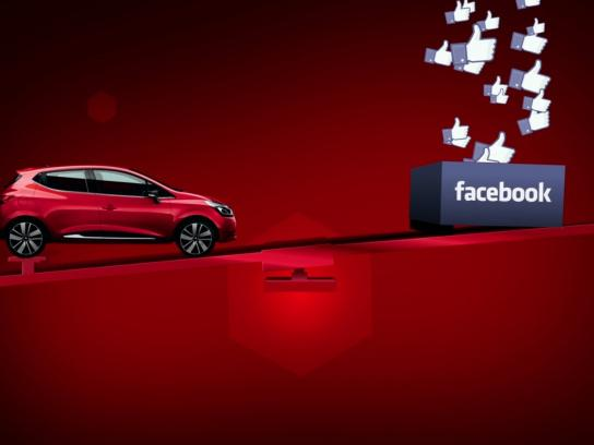 Renault Digital Ad -  The first car carried by likes
