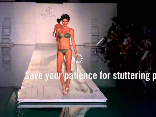 German Stuttering Association Film Ad -  Save your patience, 3