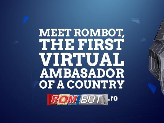 ROM Digital Ad - Rombot - The First Virtual Ambassador of a Country