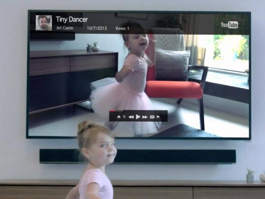 Vizio Film Ad -  Beautifully Simple, Tiny Dancer