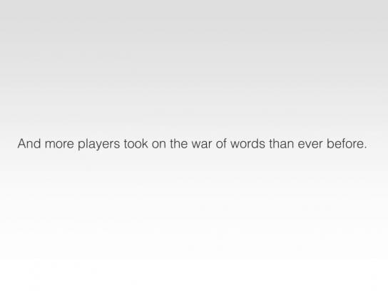 Scrabble Digital Ad -  Battle Captcha