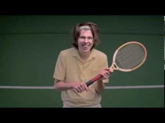 United States Tennis Association Digital Ad -  Tennis makes you happier