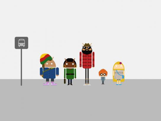 Android Film Ad -  Bus stop