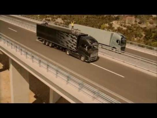 Volvo Digital Ad -  The Ballerina stunt