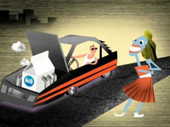 Dairy Farmers of Canada Film Ad -  Car