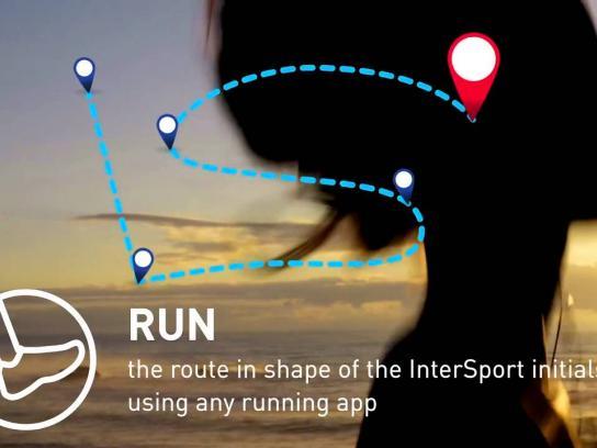 Intersport Digital Ad -  Run the logo