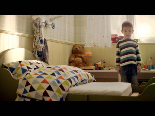 IKEA Film Ad -  Little is needed to grow up together
