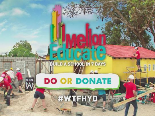 Mellon Educate Digital Ad -  What the f**k have you done?