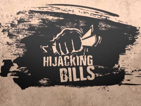 Boko Halal Outdoor Ad -  Hijacking bills