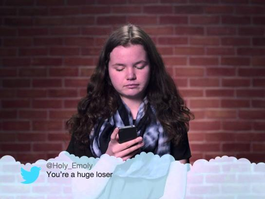 The Canadian Safe School Network Film Ad -  Kids read mean tweets