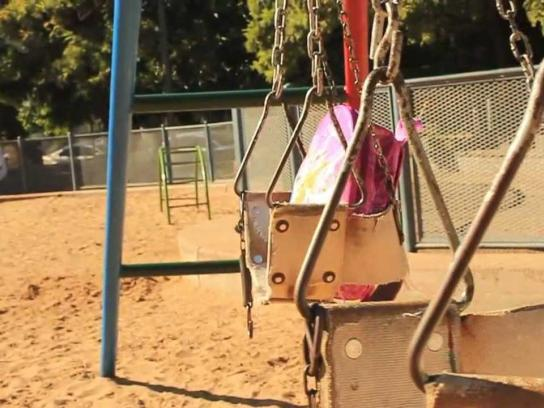 Missing Children Ambient Ad -  The Lost Backpack