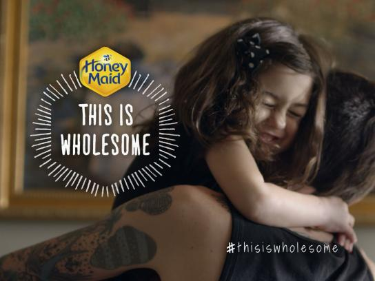 Honey Maid Digital Ad -  This is Wholesome