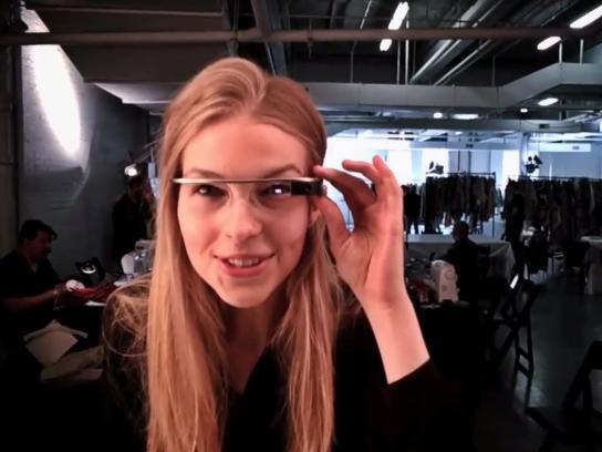 Google Digital Ad -  DVF Through Glass