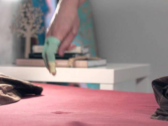 LG Digital Ad -  The battle for remote - trampoline test