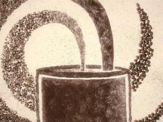 Tim Hortons Film Ad -  Coffee Art