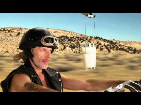 MilkPEP Film Ad -  Milk vs. Eggs Benedict, 'Motorcycles'