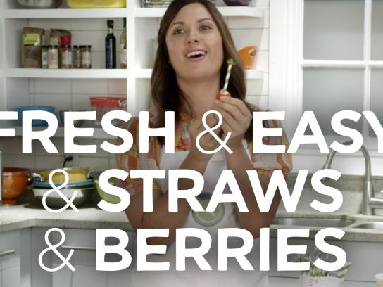 Fresh & Easy Digital Ad -  Hacks of Life - Straws & Berries