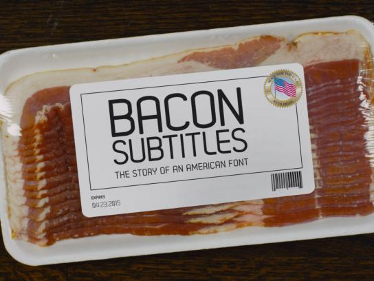 Chicago Latino Film Festival Digital Ad -  Bacon Subtitles