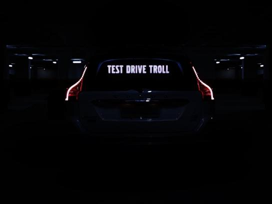 Volvo Digital Ad - Test drive troll