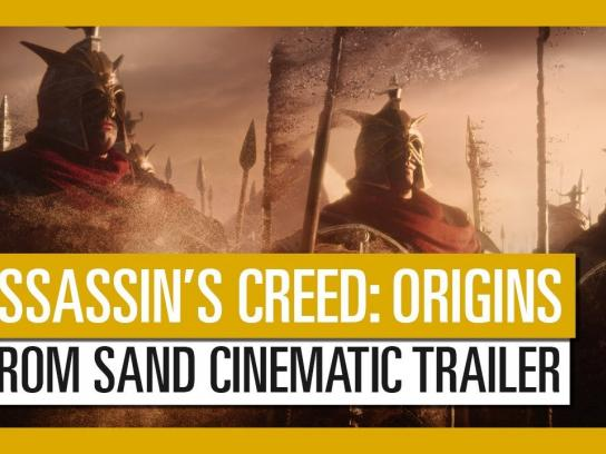 Ubisoft Digital Ad - Assassin's Creed Origins - From Sand Cinematic Trailer